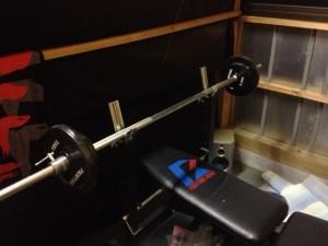 My bench press