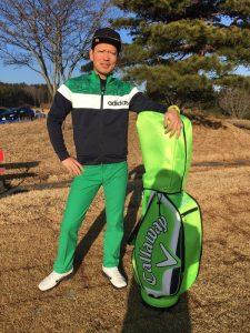 Me and my golf bag