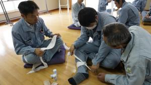 緊急時対応訓練講義