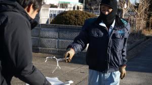 地域貢献活動~ゴミ拾い~